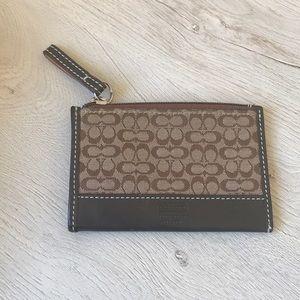 Coach credit card holder